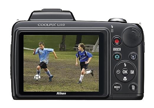 amazon com nikon coolpix l110 12 1mp digital camera with 15x rh amazon com Nikon Coolpix L110 Accessories Nikon Coolpix L105 Review