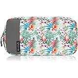 Hynes Eagle Travel Bag Universal Electronics Case Accessories Organizer Bag for USB Phone Storage Bag Flamingo