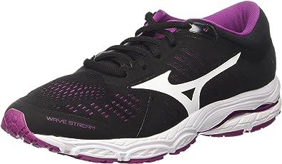 Mizuno Wave Stream Wos, Zapatillas de Running para Mujer: Amazon.es: Zapatos y complementos