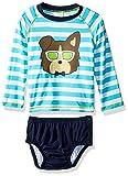 Kiko & Max Baby Boys Rashguard and Diaper Cover