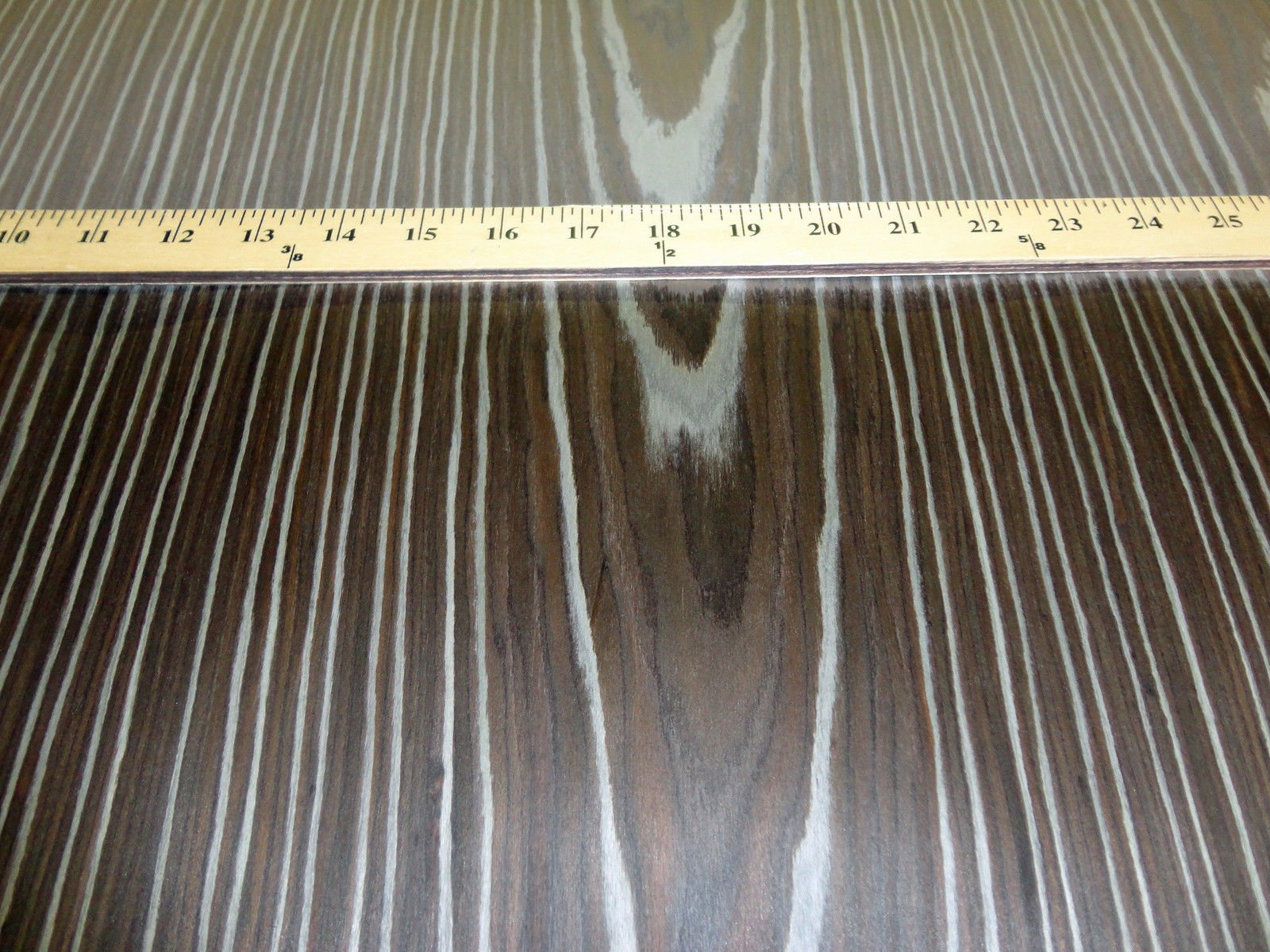 Spalted Walnut composite wood veneer 24'' x 96'' with wood backer 1/25'' thickness