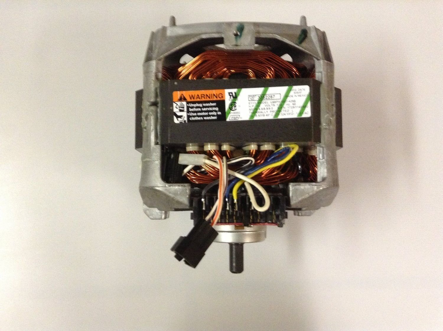 Amazon.com: Replacement Washing Machine Motor for Whirlpool, Sears,  Kenmore, Amana Refrigerators 3352287: Home Improvement