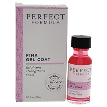 Amazon.com : Perfect Formula Pink Gel Coat, 0.6 Ounce : Beauty