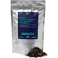 DAVIDsTEA Organic Cream of Earl Grey Loose Leaf Tea, Premium Black Tea with Bergamot and Vanilla, 100 g