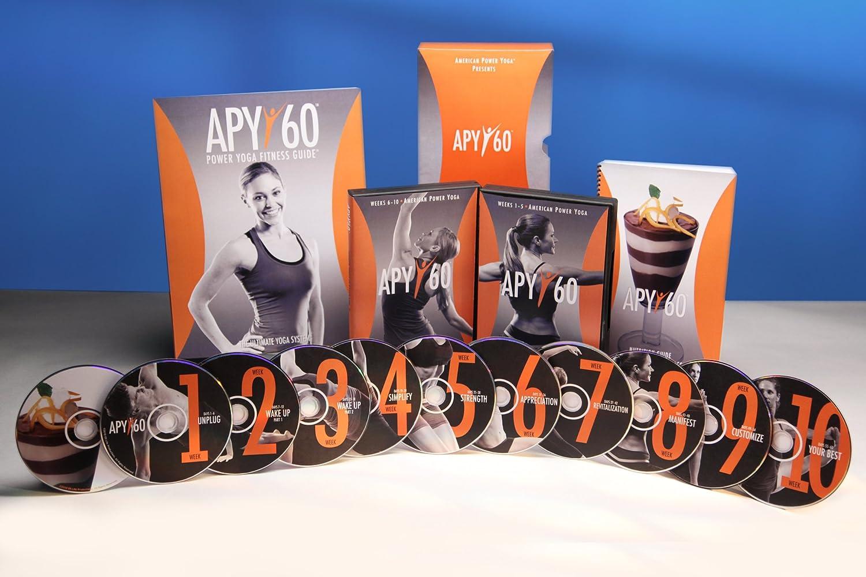 Amazon.com : OS Life Productions APY60:60 Day Power Yoga ...