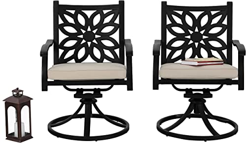 PHI VILLA PHI VILLA Outdoor Swivel Chairs