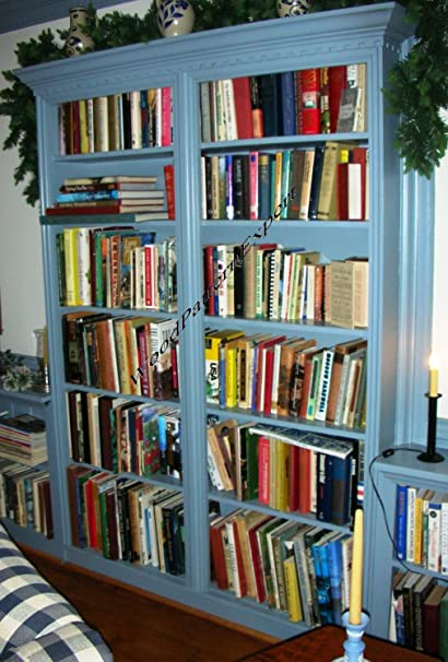 BOOKCASE Paper Plans SO EASY BEGINNERS LOOK LIKE EXPERTS Build Your Own ANY SIZE CUSTOM BOOKSHELF