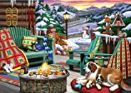 Ravensburger Cozy Series: Apres All Day 500 Piece Large Format Jigsaw Puzzle for Adults - Every Piece is Unique, Softclick T