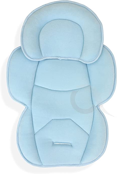 OLO BABY Infant Snuzzler Head Hugger /& Full Body Support Liner for Car Seat Buggy Pushchair baby blue