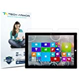 """Tech Armor - High Definition HD-Clear Film Screen Protector for Microsoft Surface 3 (2015) [Not Pro 12""""] [2-Pack]"""