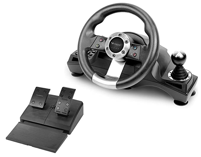 Subsonic - Drive Pro Sport Wheel with pedals and gear-shift