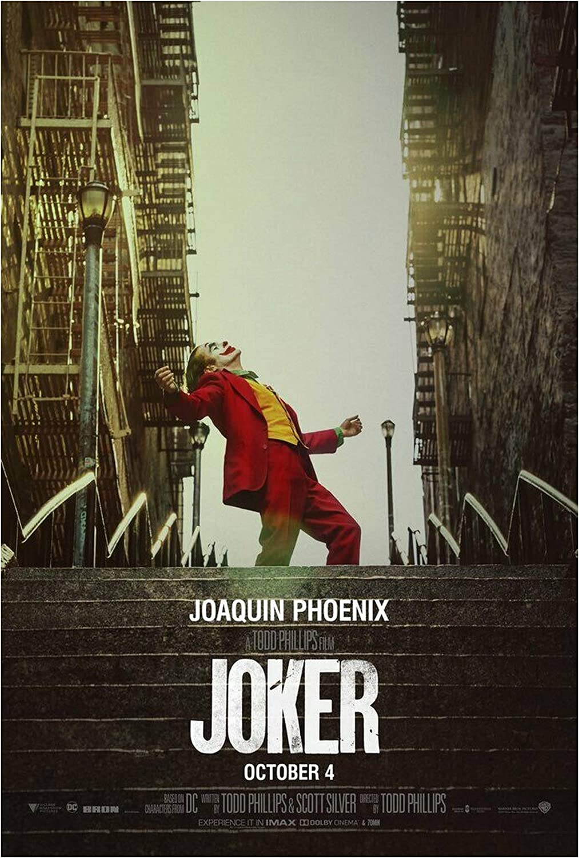 "Movie Silk Fabric Poster 27/""x40/"" Joaquin Phoenix Horror 2019 Joker"