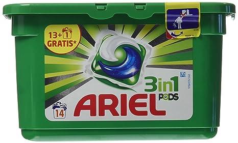 Ariel Detergente 3 en 1 - 14 Cápsulas: Amazon.es: Amazon Pantry