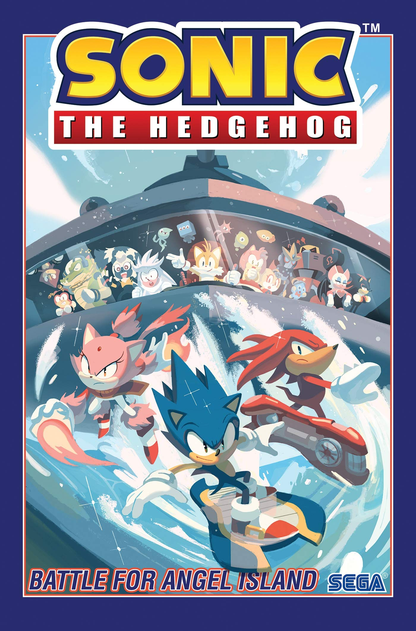 Amazon Com Sonic The Hedgehog Vol 3 Battle For Angel Island 9781684054985 Flynn Ian Yardley Tracy Stanley Evan Books
