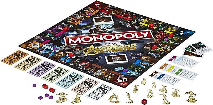 Hasbro Gaming Monopoly Avengers: Amazon.es: Juguetes y juegos