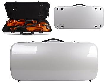 Yinfente - Funda doble para violín o viola (fibra de carbono ...