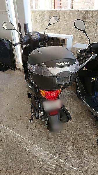 SHAD(シャッド)-SH33-トップケース-無塗装ブラック-2017年新モデル