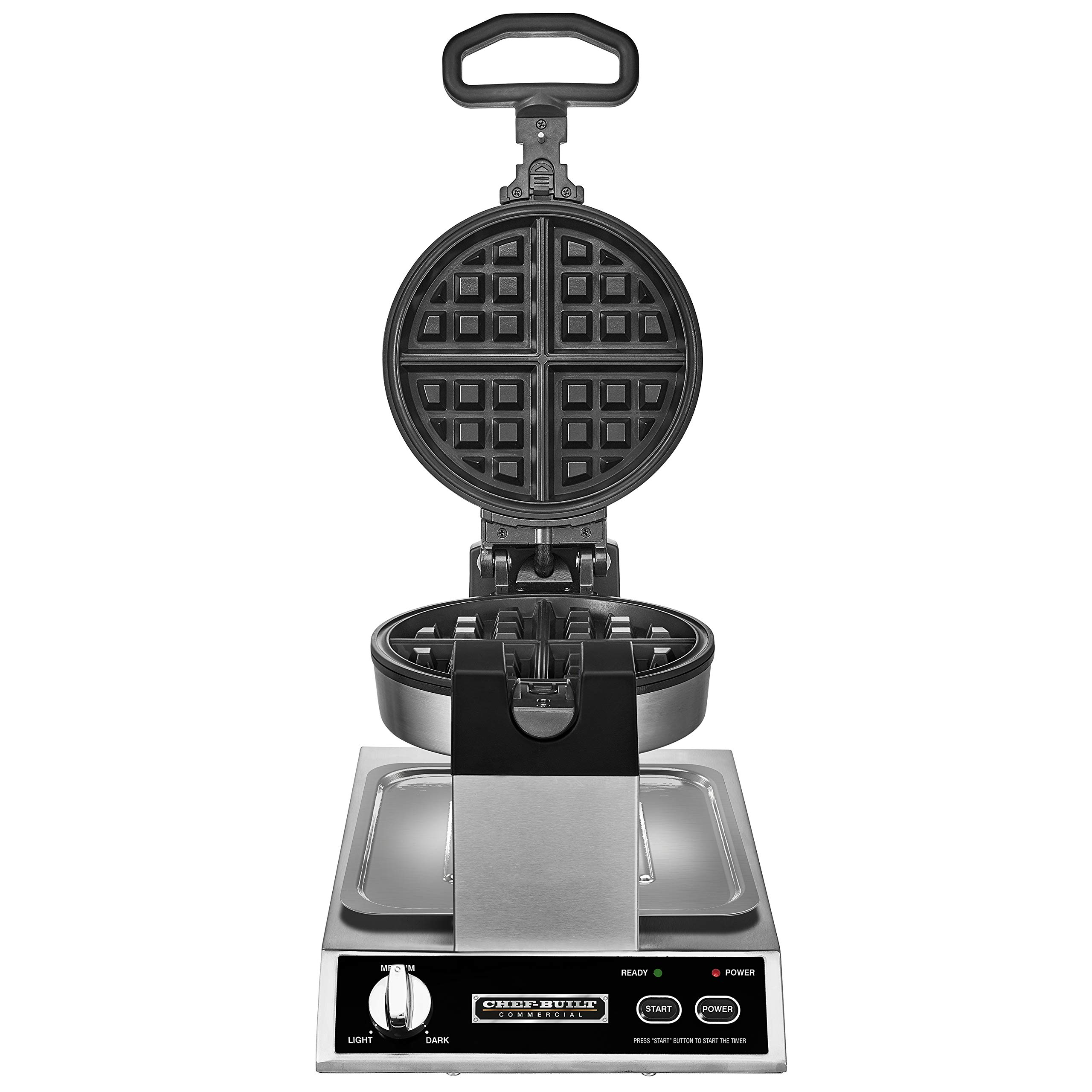 CHEF-BUILT (CWM-300) Commercial Rotating Classic Waffle Maker