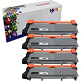 HIINK Comaptible Toner Cartridge Replacement for Brother TN-660 TN660 TN630 High Yield Toner Cartridge use with HL-L2300D HL-L2305W HL-L2340DW HL-L2360DW HL-L2380DW MFC-L2680W(Black, 4-Pack)