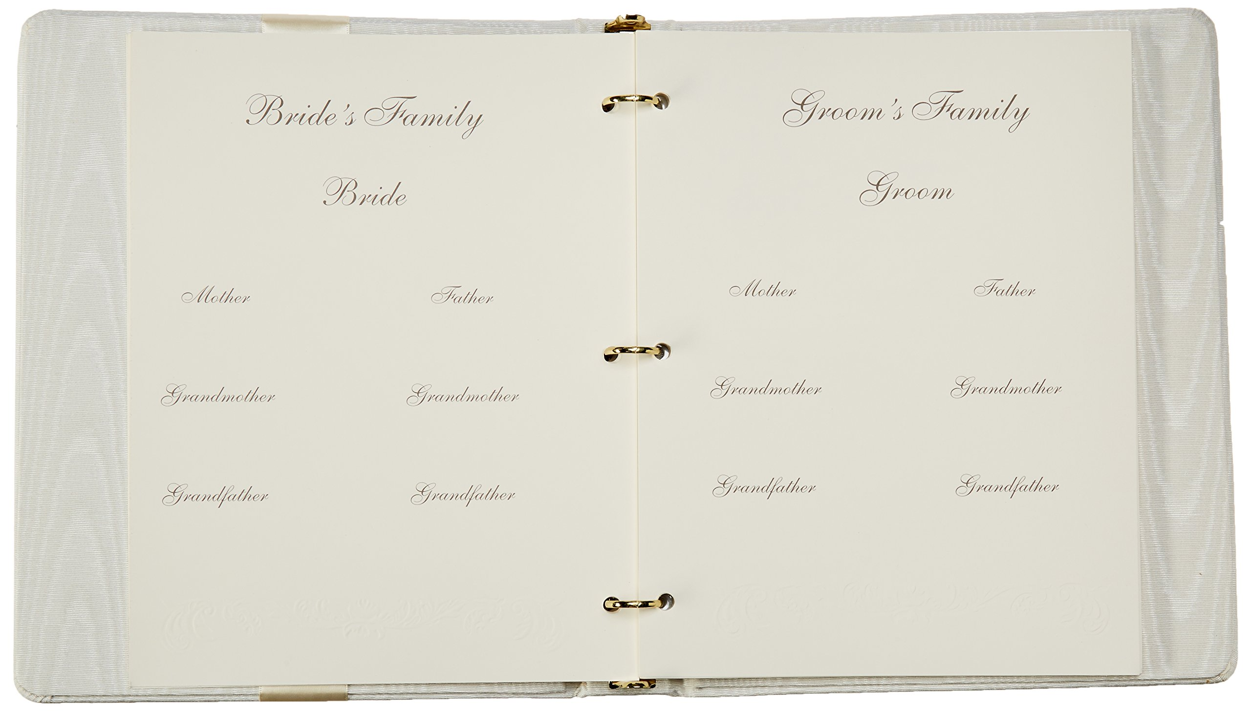 Beverly Clark Collection Grace, Memory Book with Crystal Cross, Ivory by Ivy Lane Designs (Image #4)