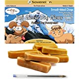 Himalayan Yak Dog Chews - All Natural Churpi Yak Chews - Yak Cheese Snack Treats for Dogs - Puppy Chew From Yak Milk In Himalayan Mountains - Long Lasting Chews For All Dogs - 0.1lb to 2.2lb