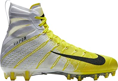 official photos 73112 606be Nike pour Homme Vapor imprenable 3 Elite Football Crampons, Homme,  Blanc Jaune,