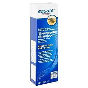 Equate Original Anti-Dandruff Formula Therapeutic Shampoo, 8.5 Fl Oz (2.5% USP Topical Coal Tar Solution) Compare to Neutrogena T/Gel Therapeutic Shampoo