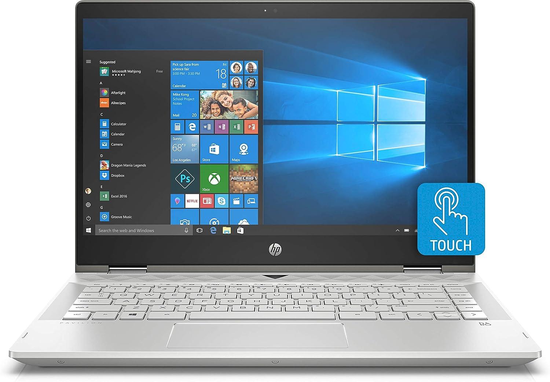 HP x360 14-CD1055 Intel i5-8265U 8GB 256GB SSD 14-inch Full HD 1920x1080 Touch Screen Convertible Laptop
