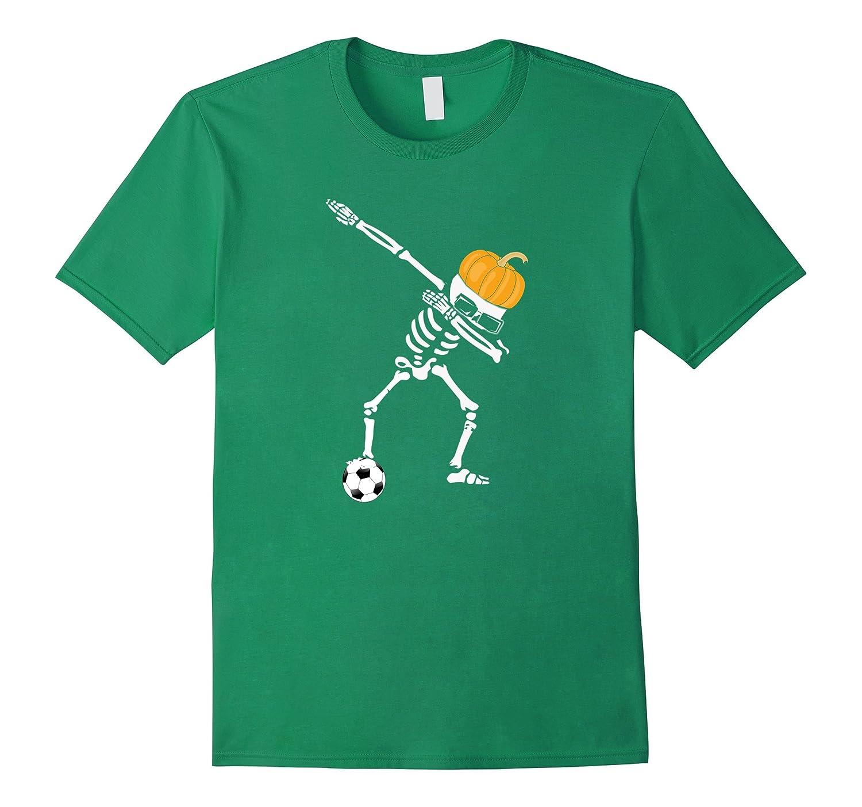 Funny Dabbing Dab Dance Soccer Ball Halloween Tshirt Pumpkin-T-Shirt