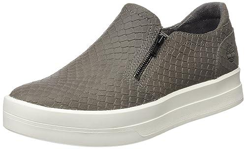 Timberland Mayliss Slip Onsteeple Grey Snake Suede, Mocasines para Mujer: Amazon.es: Zapatos y complementos