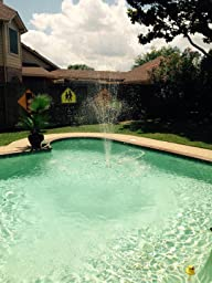 Zodiac 7 400 00 Polaris Waterstars Fountain System Free Standing Garden Fountains