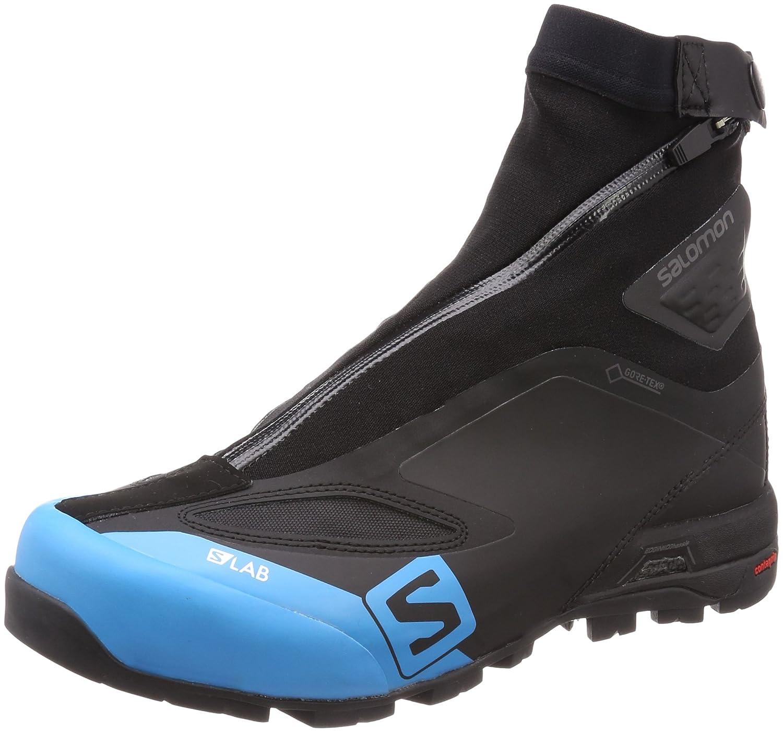 Salomon Unisex-Erwachsene S/Lab X Alp Carbon 2 GTX Traillaufschuhe, Schwarz (Black/Black/Transcend Blue 000), 40 2/3 EU