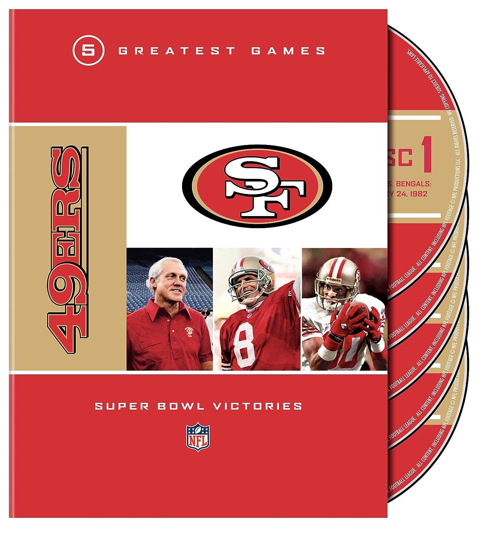 【感謝価格】 NFL Games 49ers 5 Greatest Games [Import] Super [DVD] Bowl Victories [DVD] [Import] B0029ZUQ8A, 靴スニーカーのシューメイト花幸:46a7c121 --- a0267596.xsph.ru