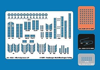 HMV 4325 Lasercut-Detailset for Albatros
