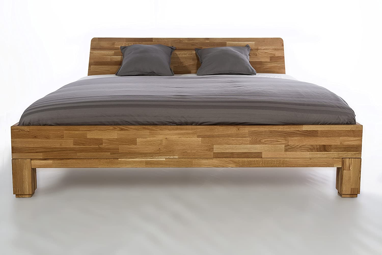 Holzwerk Massivholzbett Roma Doppelbett Bett Massiv Wildeiche OVP ...