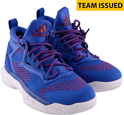 bc0aa9bdb50f Kansas Jayhawks Team-Issued Blue D Lillard 2 Shoes - Size 8.5 - Fanatics  Authentic Certified - College Game Used Cleats and Sneakers at Amazon s  Sports ...