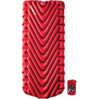 KLYMIT STATIC V LUXE Sleeping Pad, Extra Wide (30 inches), Best Camping Gear for Car Camping, Travel, and Backpacking