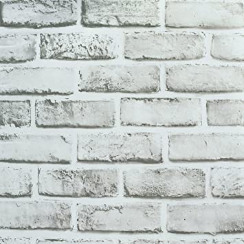 Wallpaper Brick Removable Self Adhesive Contact Paper Roll For Room Decor 17 71x 197 Inches