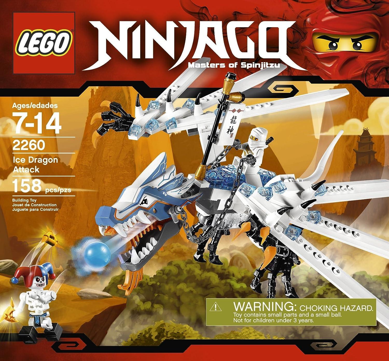Amazon.com: LEGO NinjagoAtaque del dragón de ...