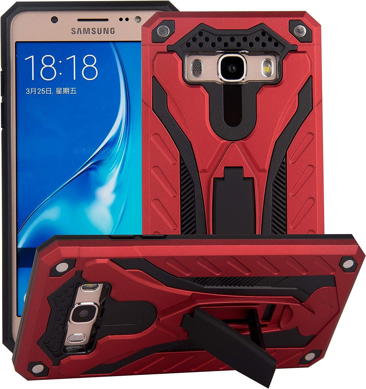 BestST Funda Samsung Galaxy J7 2016 +Pantalla de Cine,Rugged Armor y Absorción de Choque Resistente 360 Grados Protective Anti-Golpes Arañazos Case Cover Caso Estuche