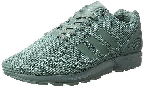 adidas ZX Flux, Scarpe da Ginnastica Basse Uomo, Turchese Vapour Steel, 38 EU