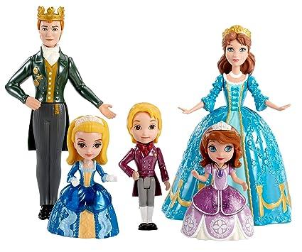 Mattel Disney Sofia The First Royal Family Small Doll Set