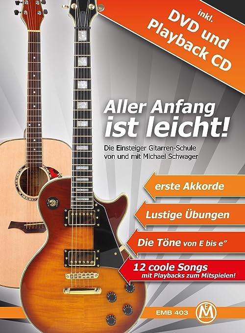 Michael Schwager. Empezar es Fácil. Método guitarra y DVD con CD ...