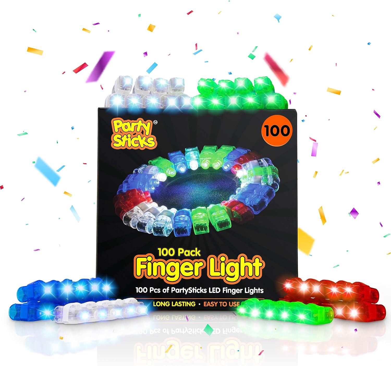 5 PCs Creative Strawberry Glow Silicone LED Flashing Light Up Soft Finger RingA!