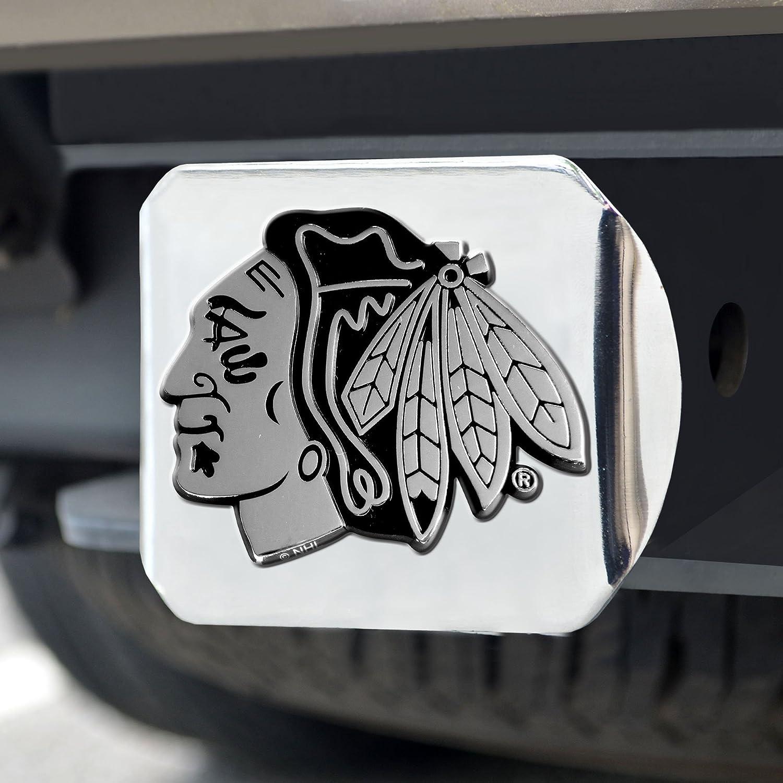 New NHL Chicago Blackhawks Chrome Metal Auto Car Emblem IN HAND /& Ready to Ship