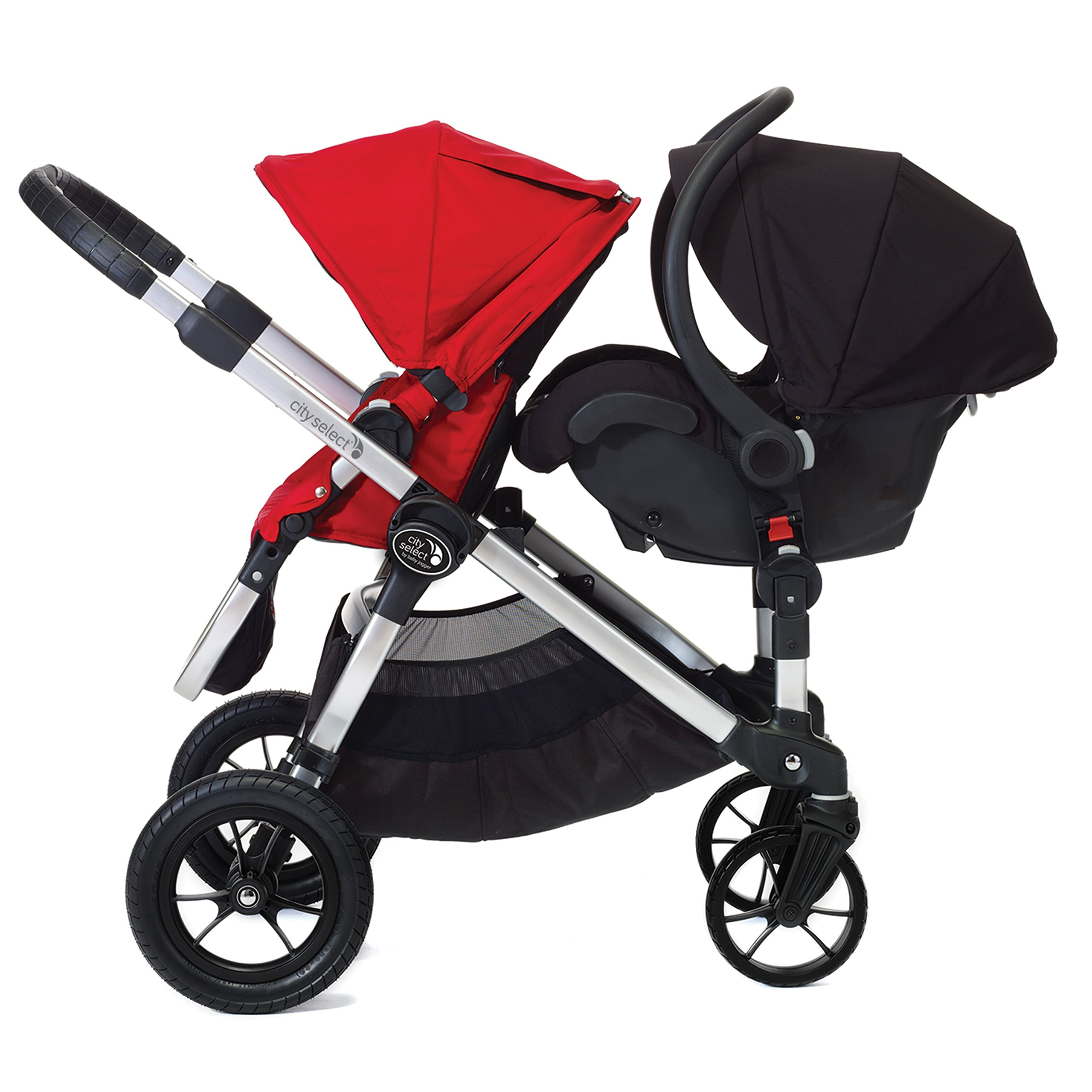 Baby Jogger City Select Second Seat Adaptors Stroller Grey by Baby Jogger (Image #3)