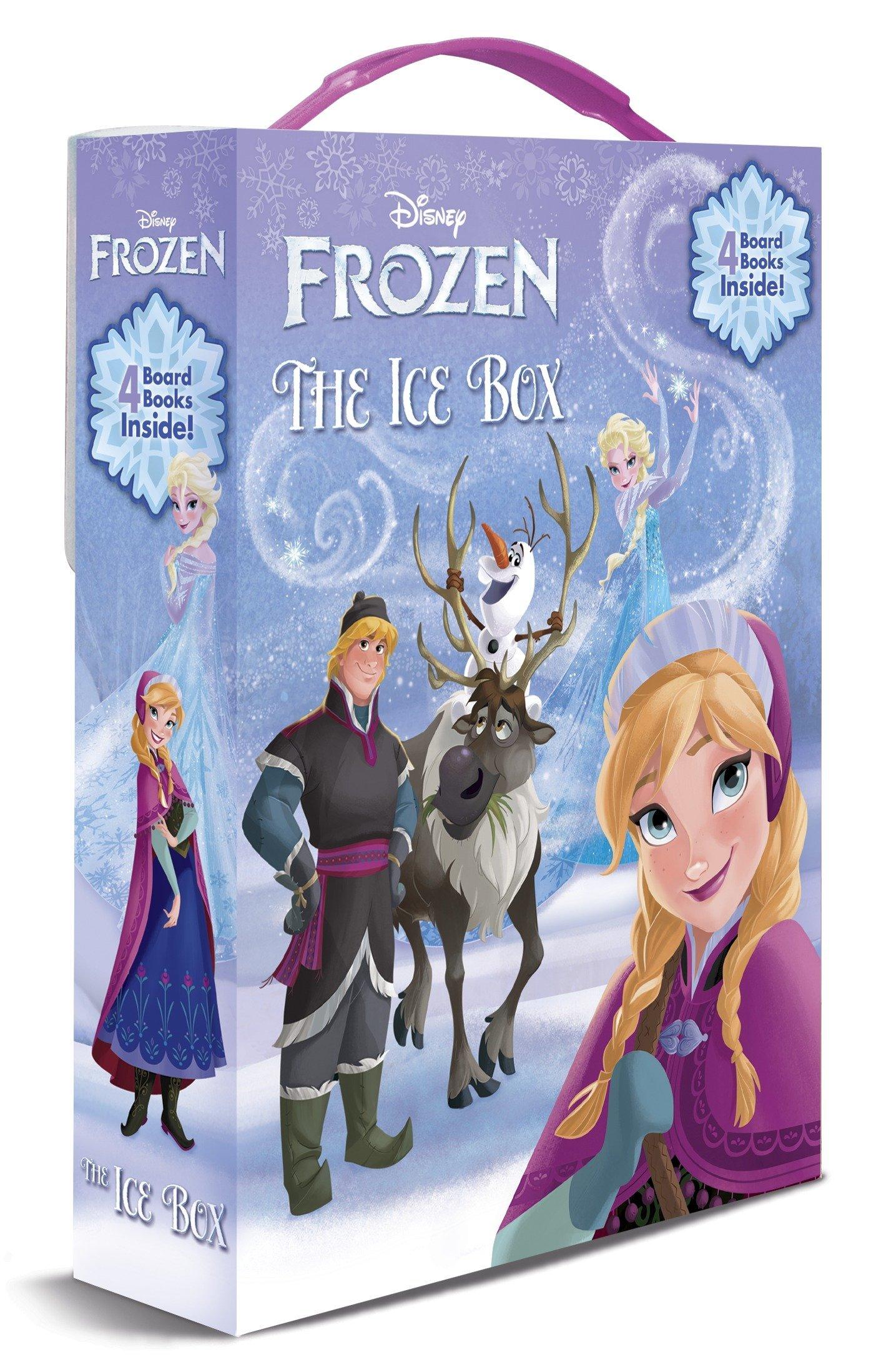 Ice Box The Frien Courtney Carbone Rh Disney 9780736431286