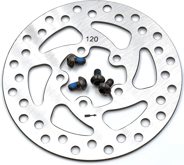 Repuesto de Disco de 120 mm para Unidad de Freno para el Modelo Pro del Patinete el/éctrico Xiaomi myBESTscooter