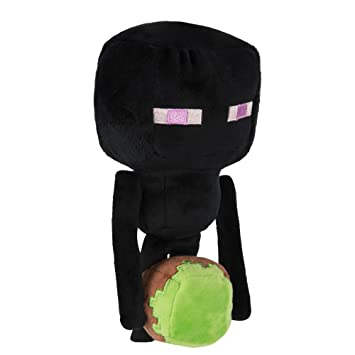 Minecraft 7784 Happy Explorer Enderman - Felpa, Color Negro