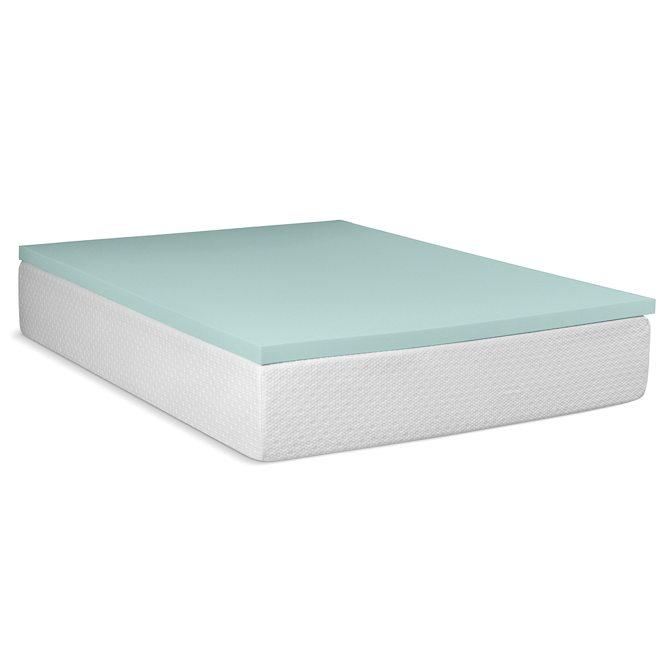Serenia Sleep 3-Inch Density Viscoelastic Memory Foam Mattress Pad Bed Topper, California King
